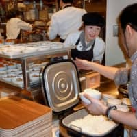 New dishes on company cafeteria menus