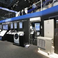 Panasonic smart appliances on display at CEATEC, Japan's consumer electronics fair. Photo by Panasonic