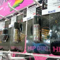 Thanks to mandatory dance classes in schools, hip-hop themed cosmetics have become a hit.