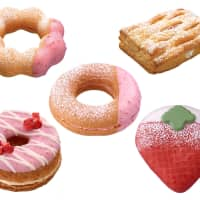 Mister Donut went berry picking for its newest line of treats