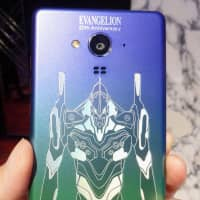 Sharp dials up the fan service to celebrate 20 years of 'Evangelion'