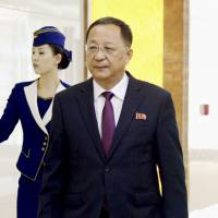 North Korean minister leaves for ASEAN meeting in Singapore