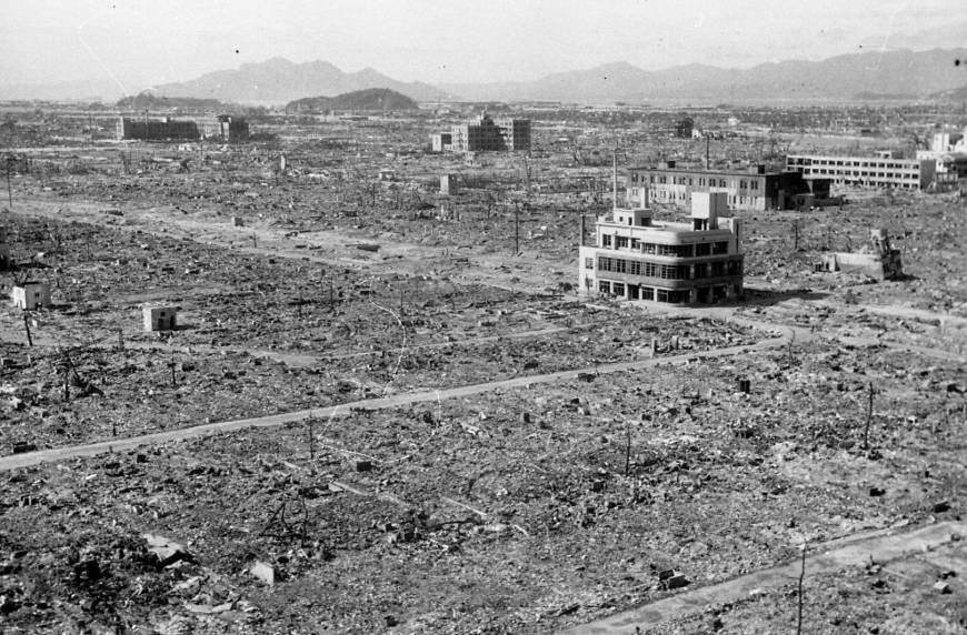 Patrons recall Hiroshima beer hall that survived A-bombing to bring relief to survivors