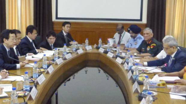 Japan and India agree to begin talks on defense sharing pact to counter China