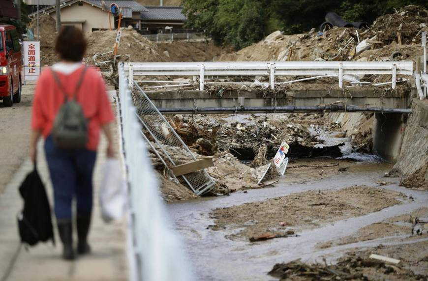 Only 3.6 percent of Hiroshima residents had evacuated when July rain disaster struck: survey
