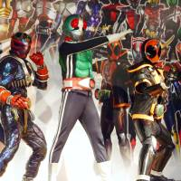 TV superhero Kamen Rider has topped a list of Japanese heroes people admired in their childhoods. | KYODO