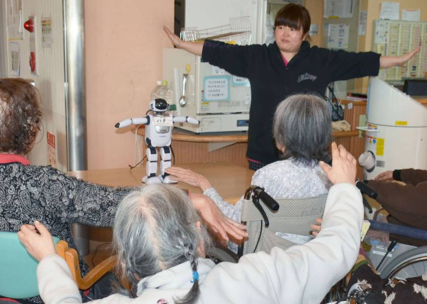 Japan to increase support for firms developing caregiver robots
