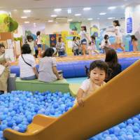 Indoor playgrounds in hot demand as Japan swelters in record heat
