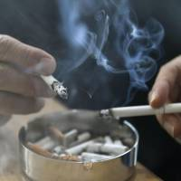 Financial losses linked to smoking are estimated to have topped ¥2 trillion in fiscal 2015, according to research by the health ministry. | KYODO