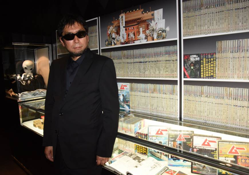 Takeharu Mikami, editor-in-chief of Mu, says his publication has traditionally adopted an open-minded attitude toward the supernatural.