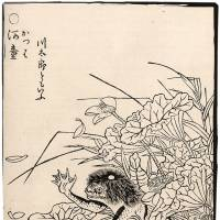 An illustration of a kappa by Toriyama Sekien (1712-88). | PUBLIC DOMAIN