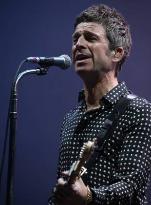 The problems in being idle: Noel Gallagher headlines the Tokyo leg of Summer Sonic on Saturday. The British rocker was suprisingly nonchalant in a set that saw him close with a Beatles cover.