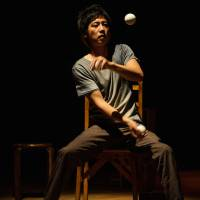 Circus skills: Yosuke Meguro, founder of the performance troupe Nagamekurashitsu, hopes to develop a contemporary circus scene in Japan. | KAGEAKI SMITH