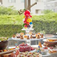 Award-winning desserts join rotating buffet