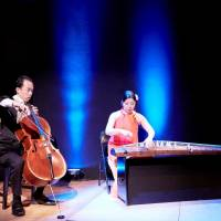 Modern classics: Duo Yumeno perform at the Japan Society in New York on Nov. 8, 2017. | DAPHNE YOUREE, JAPAN SOCIETY