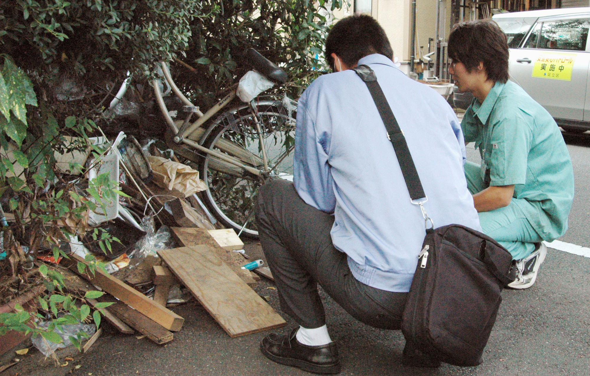 The collector: Some people have trouble throwing away items because they think they might be useful someday. | KYODO