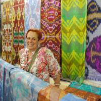Designer Linda Polgar gives vintage textiles a new lease of life