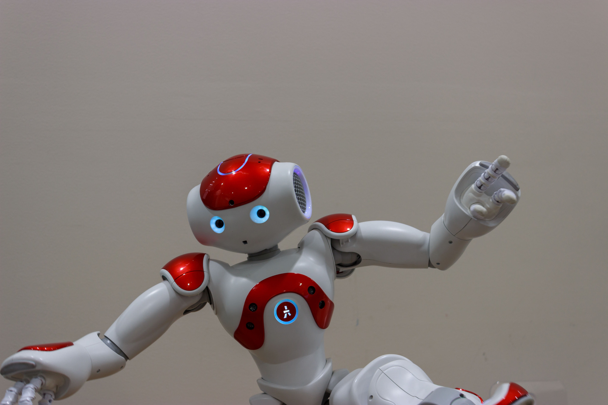 Robo-student: SoftBank Robotics' Nao is one of the types of robot observed by Fumihide Tanaka for his review of the effect of Care-Receiving Robots in the classroom. | GETTY IMAGES
