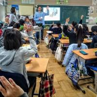 In the past three years, Yahya Almasri has given more than 65 presentations at Rotary Clubs, elementary and high schools, universities and model U.N. symposiums. | COURTESY OF YAHYA ALMASRI