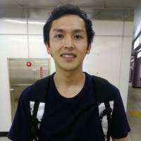 Ryo Yamamoto, Student, 22 (Japanese): Well, first of all, it is important to stay hydrated, and to have good meals — that is, in terms of nutrition and purines (which can cause gout). Taking into consideration the heavy physical toll this heat takes, I am also conscious of the need to sleep well.