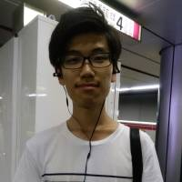 Hiroki Handa, Student, 20 (Japanese): I cope by eating ice cream, keeping the air conditioner on constantly and by frequently using wet face towels. And when sleeping, I drape one of those towels you can buy in ¥100 stores around my neck — the ones that stay cold after you soak them in water.