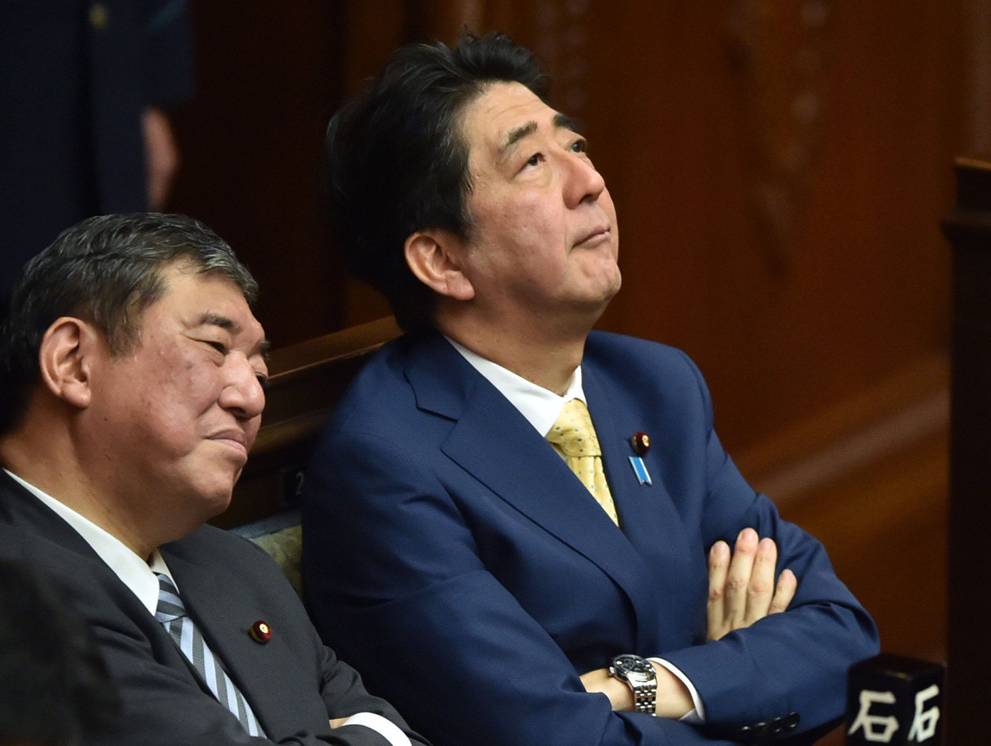 Shigeru Ishiba, a former state minister for regional revitalization, faces an uphill battle in his bid to replace Prime Minister Shinzo Abe as president of the Liberal Democratic Party. | AFP-JIJI