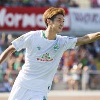 Yuya Osako scores in debut for Werder Bremen