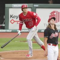 Shohei Ohtani hits two homers, goes 4-for-5 as Angels top Indians