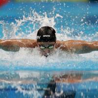 Daiya Seto defends 200-meter butterfly title at Asian Games