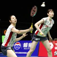 Japan shuttlers excelling at world championships