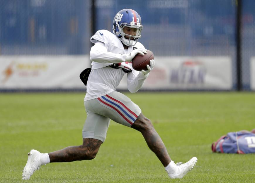 Giants' Odell Beckham Jr. becomes NFL's top-paid receiver