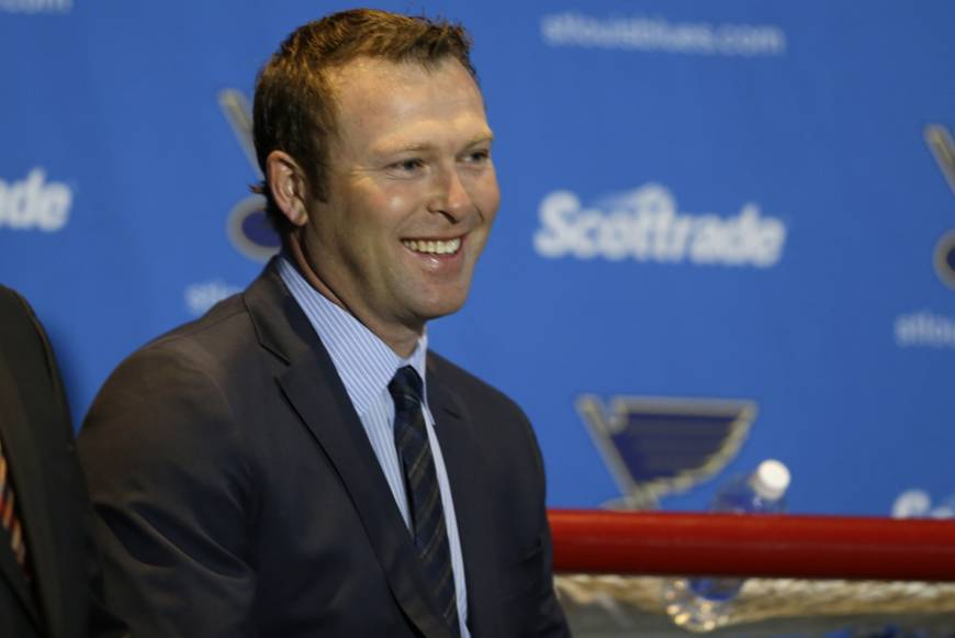 Legendary goalie Martin Brodeur back with Devils in business role