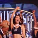 Cheerleader Kei Hirata, a Chiba native, earned a spot on the Thunder Girls dance team during recent summer tryouts. Hirata previously worked as a Oklahoma City cheerleader for the NBA team from 2012-14.