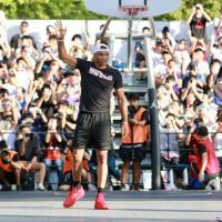 Thunder superstar Russell Westbrook delivers inspiration in Tokyo visit
