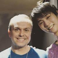 David Wilson has choreographed many programs for two-time Olympic champion Yuzuru Hanyu over the years, including 'Haru yo koi' for 'Fantasy on Ice' this summer. | FACEBOOK