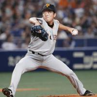 Giants reliever Shun Ikeda earns first NPB victory
