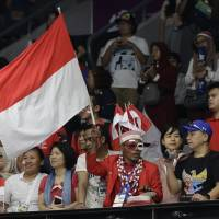 Passionate Indonesian fans embrace home Asian Games