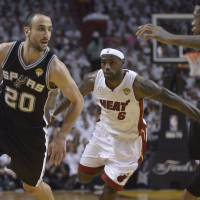 Manu Ginobili, a four-time champion with Spurs, retires at 41