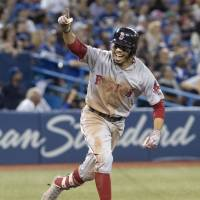 Betts becomes first player to hit for cycle in 2018