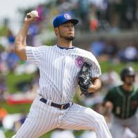 Cubs' Yu Darvish says he's relieved cause of elbow pain discovered