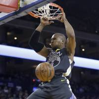 David West, a member of the NBA champion Golden State Warriors the past two seasons, has retired after a 15-year career. | AP