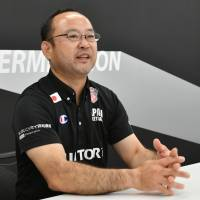 Japan men's wheelchair basketball coach Shinpei Oikawa is positive about recent increases in the amount of support received by para athletes. | YOSHIAKI MIURA