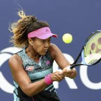 Naomi Osaka is having growing pains this season as she looks to mature as a professional player at the age of 20. | KYODO