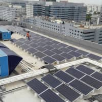 A rooftop solar power generation plant in Bangalore, India. | ORIX CORP.