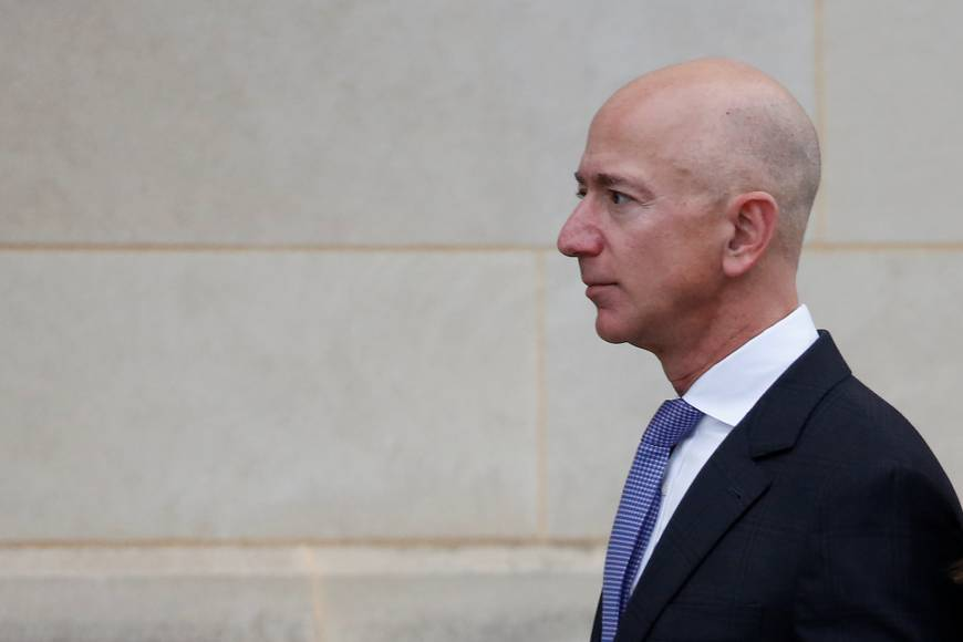 Always 'leaning into the future,' Jeff Bezos rockets to richest person on the planet, worth $166 billion