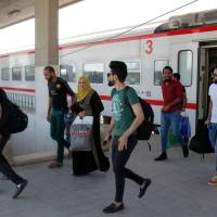 Reopened Baghdad-Fallujah railway a tentative sign of progress in Iraq