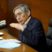 BOJ chief Haruhiko Kuroda rules out hiking interest rates for 'quite a long time'