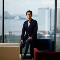 Panasonic Connected Solutions President Yasuyuki Higuchi has been tasked with shaking up Panasonic Corp.'s corporate culture. | BLOOMBERG