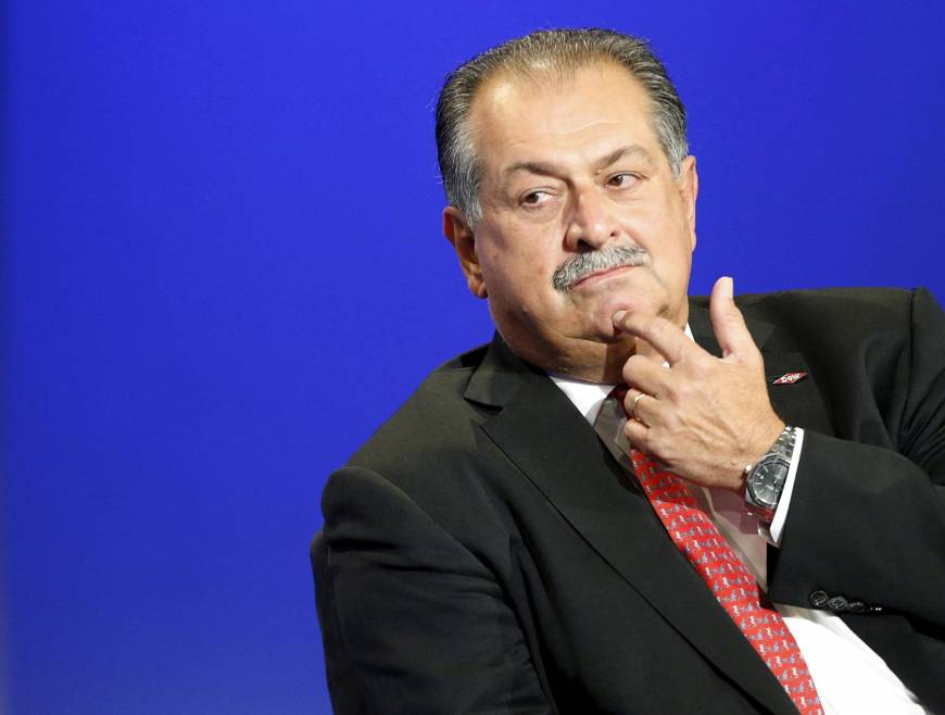 Saudi sovereign fund appoints former Dow Chemical CEO Andrew Liveris as special adviser