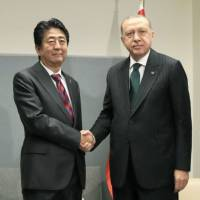 Japan and Turkey seek early conclusion of free trade accord